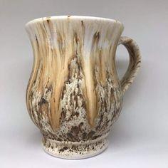 Mayco stoneware bisque Lisa Mug, Light Flux and Winter Wood, fired to cone 6 Rookwood Pottery, Raku Pottery, Slab Pottery, Glazes For Pottery, Pottery Mugs, Pottery Art, Ceramic Glaze Recipes, Amaco Glazes, Pottery Designs