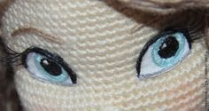 """Мой Мк """"Вышиваем глазки для вязаных игрушек"""" - Ярмарка Мастеров - ручная работа, handmade"""