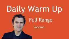 Daily Singing Warm Up - Soprano Range Singing Warm Ups, Reading Sheet Music, You Raise Me Up, Vocal Exercises, Choir, Theatre, The Voice, Stage, Notes