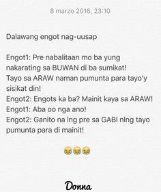 Filipino Funny, Tagalog, Pinoy, Savage, Attitude, Charms, Jokes, Motivation, Husky Jokes