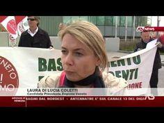 Laura Di Lucia Coletti al TG di AntennaTre dell'11/04/2015