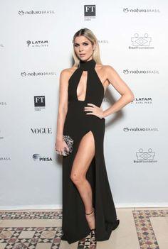 #NYFW: look white chic no gala da Brazil Foundation!