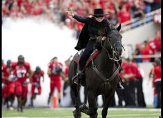 The Masked Rider, Texas Tech University