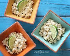 Warm Mexican Corn Salad