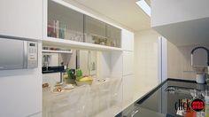 Projeto de Interiores Online de uma cozinha - Ribeirão Preto - SP - Projeto: MB Arquitetura e Interiores