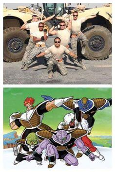 Ginyu Marines LOL