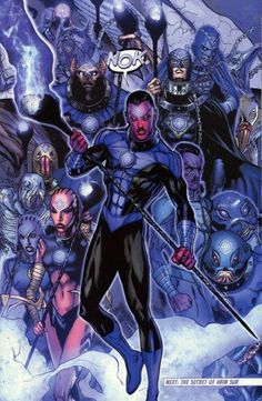 Sinestro brought into the indigo tribe. Green Lantern Green Arrow, Purple Lantern, Green Lanterns, Comic Book Characters, Comic Books Art, Comic Art, Dc Comics Heroes, Dc Comics Art, Marvel Comics