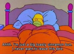 Would you like to stay in bed forever? #homersimpson #thesimpsons #bestofsimpson