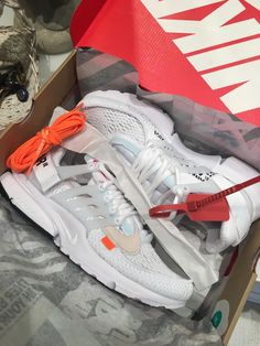 brand new a4d58 eba11 Mens size Nike Off-White Air Presto White   OW unauthorized shoes