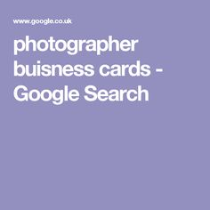 photographer buisness cards - Google Search