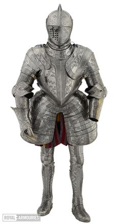 Thumbnail image of Field and tilt armour of Robert Dudley, Earl of Leicester (II.81)