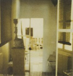 FOR PILAR~: Cy Twombly's Photographs of Interiors: 1951-2007; Rome, Gaeta  NYC; His Own Homes  Studios