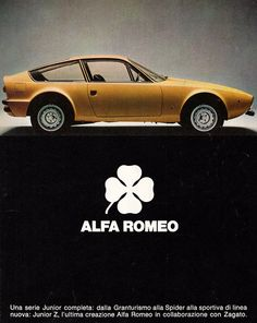 Alfa Romeo - yellow car