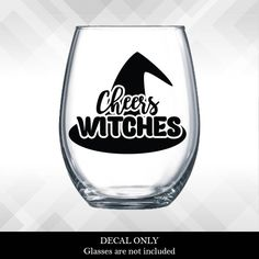 witches brew halloween wine glass or plastic tumbler decals diy