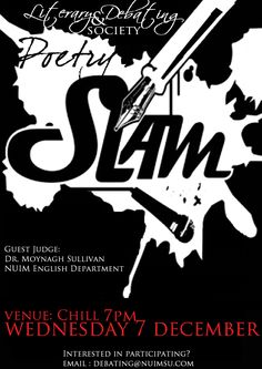 Literary Event: Annual Poetry Slam