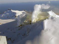 Fourpeaked volcano, Alaska