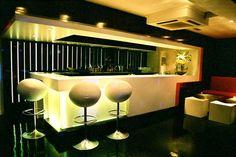 Main Bar. Rehab Nightclub. Leeds, Uk. Interiors by Igloo Design.