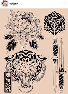 Black Tattoos, Body Art Tattoos, Sleeve Tattoos, Tattoo Sketches, Tattoo Drawings, Chrysanthemum Tattoo, Traditional Tattoo Art, Japan Tattoo, Japanese Tattoo Art