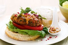 Satay sauce is a peanut flavoured sauce which will give an Asian twist to these tasty chicken burgers. This recipe also happens to be our Food Fight champion for the week!