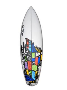 Surfboard Artwork with Posca on our 345 Fish: http://www.nexosurfboards.com/surfboards/fish/345-fish/
