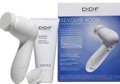 DDF Revolve 400X Kit-Cilt Bakım ve Peeling Cihazı cildi nem ve ışıltı katar, detaylı bilgi için tıklayınız.