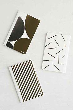 Poppin Foil Mini Journal Set
