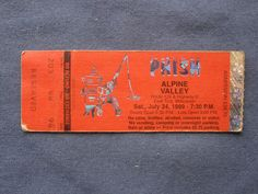 Phish, Alpine Valley, 7/24/1999, 28.75