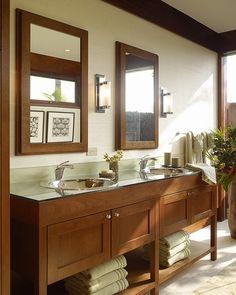 Vanity & matching mirrors