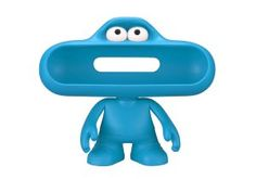 Beats By Dre pill character (Blue)  Product Highlights:									Stand for Your pill Speaker													Access to Audio & Charging Ports													Moveable Arms & Head											Overview:  Check Out Blue Dr Dre Beats. Free UK Delivery on Eligible Orders. More Info: http://www.loveheadphone.co.uk/blue-dr-dre-beats.html