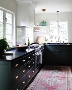 """""""When designing a kitchen or bathroom, I always encourage my clients to work with authentic…"""""""