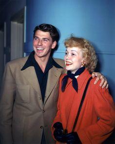 Ronald Reagan Jane Wyman