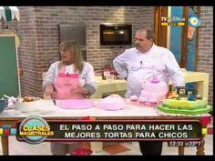 Decoración de tortas (Parte 1) - YouTube