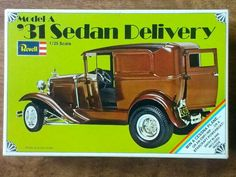 Revell '31 Ford sedan delivery, 1969 issue.