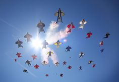 Red Bull WingSuit Flying