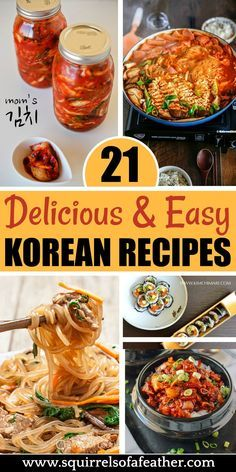 20 Tasty Korean Recipes That Anyone Can Make at Home Yum! If you love Asian food and spice, these Korean recipes are the best! Great dinner ideas, but there are also Korean side dishes (like kimchi) and even sweet desserts! Bulgogi, Korean Side Dishes, Easy Korean Recipes, Korean Food Recipes, Best Korean Food, South Korean Food, Ramen Recipes, Korean Bbq, Japanese Recipes