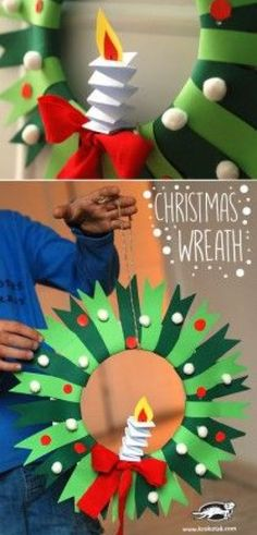 10 Paper Plate Christmas Crafts for Kids -
