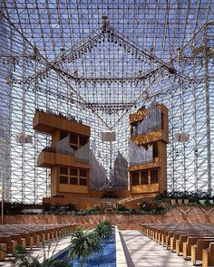 Crystal Cathedral  -  My wedding place a LONG time ago.