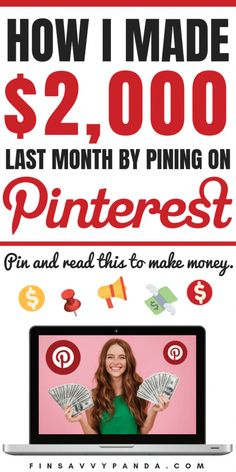 Learn how to make money on Pinterest today! Are you looking for an epic passive income idea? Perhaps you're a stay at home mom looking to start a side business to earn some extra cash. This is an honest post where I write about my struggles and mistakes when I first started looking for ways to make money online. Learn from my mistakes so that you can start making money ASAP! I finally earned over $2,000 this month on Pinterest (now I make over $3,000)! You