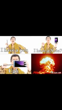 Apple pen Pineapple pen ugh Note 7 Boom