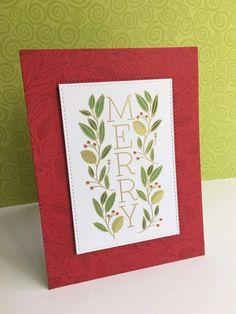 Stamped Christmas Cards, Christmas Card Crafts, Handmade Christmas, Holiday Cards, Xmas Cards, Christmas Ideas, Greeting Cards, Simon Says Stamp Blog, Christmas Couple