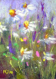 mini original pastels by Karen Margulis on ebay auction