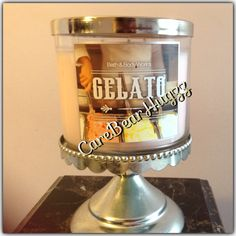Bath and Body Works Gelato candle 2013/2014