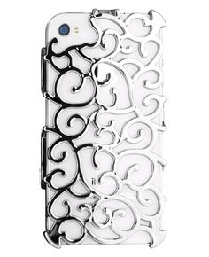 ION-factory Nouveau Art Case for iPhone 4 & iPhone 4S (Silver or Gold)