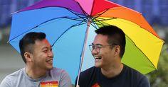 The Taipei mayor posted #LoveIsLove on Facebook.