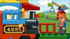 Let's Play Train with LEGO