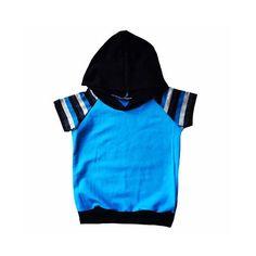 blue and black stripes boys Light weight Raglan by Allsnazziedup