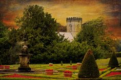 Fountain at Sledmere, East Yorkshire by Philip Ed, via Flickr