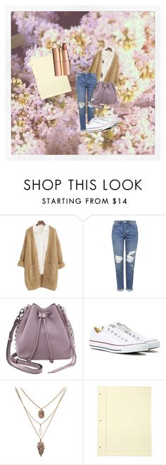 """""""Spring Notes"""" by chloxoxoxx on Polyvore featuring beauty, Chicnova Fashion, Topshop, Rebecca Minkoff, Converse and Charlotte Tilbury"""