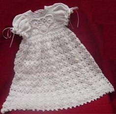 Free Crochet Baby Christmas Dress | Wallpaper Crochet baby items patterns free christening dress ...