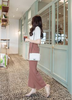 T-Shirts, Dress, Blouse, Skirts, Pants & Korean Fashion Trends, Korea Fashion, Asian Fashion, Daily Fashion, Korean Fashion Office, Simple Outfits, Classy Outfits, Stylish Outfits, Girl Outfits